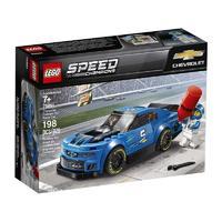 超值黑五、苏宁SUPER会员:LEGO 乐高 超级赛车系列 75891 雪佛兰卡罗ZL1赛车