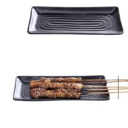 蒸福缘 烧烤店专用盘子 长方形