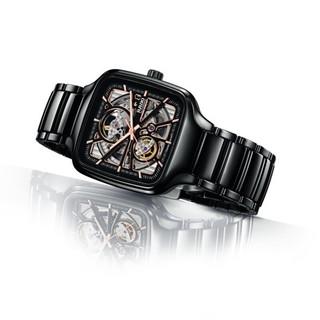 RADO 雷达 真系列 R27086162 陶瓷自动机械腕表