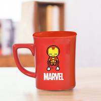 Mxilife 孟溪 漫威正版授权 超级英雄马克水杯