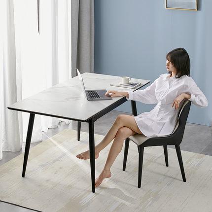 8H YB1 Jun岩板可伸缩餐桌 110-140cm