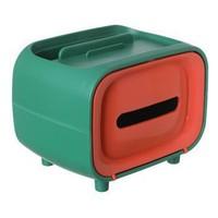 IMU 多功能创意纸巾盒 绿橙