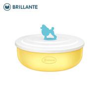 Brillante 贝立安 宝宝带盖辅食碗  300ml *2件
