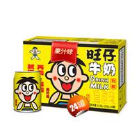 限北京地区:Want Want 旺旺 儿童牛奶早餐奶 果汁味 245ml*24罐 *3件