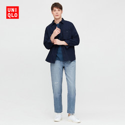 UNIQLO 优衣库 430587 男士窄口牛仔裤