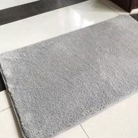 移动专享:美帮汇 浴室防滑垫地毯 长毛款 40*60cm