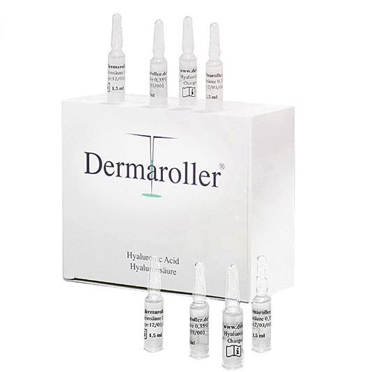 Dermaroller 0.35%玻尿酸原液精华液安瓶 1.5ml*30