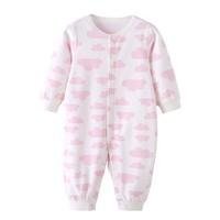 优豚 婴儿纯棉连体衣 52-80cm