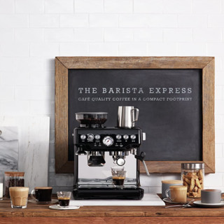 SAGE The Barista Express系列 SES875BKS 意式咖啡机 黑色
