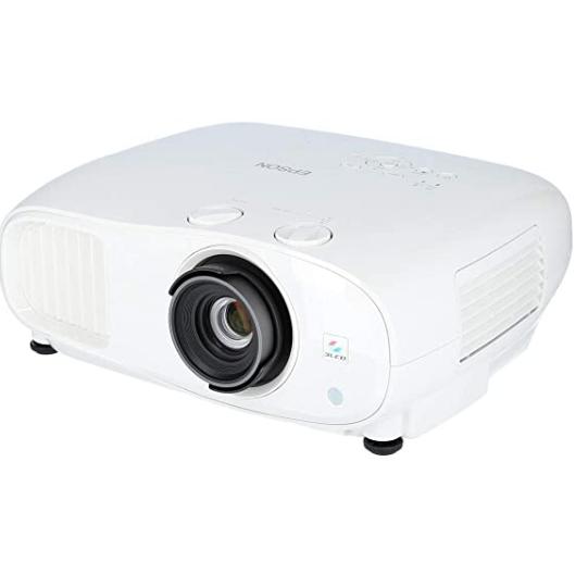 EPSON 爱普生 EH-TW7000 4K 投影仪 3000流明 白色