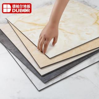 德柏尔 地板革自粘PVC地板贴水泥地直接铺加厚耐磨防水地胶商用仿瓷砖大理石塑胶地板 UV款525 一片价格