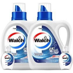 Walch 威露士 抗菌有氧洗衣液原味 1L*2 送20ml*2免洗洁手液