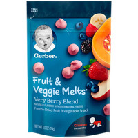 Gerber 嘉宝 婴幼儿酸奶溶豆 28g 混合浆果味 *3件
