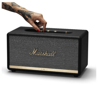 Marshall 马歇尔 STANMORE II 蓝牙音箱 黑色