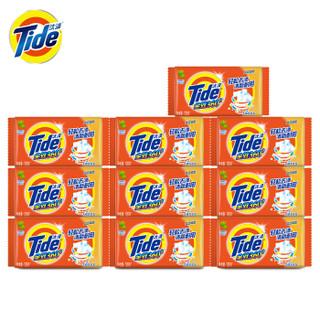 京东PLUS会员 : Tide 汰渍 全效洁净洗衣皂 126G*10块