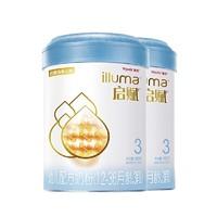 Wyeth 惠氏 启赋蓝钻 幼儿配方奶粉 3段 900g*2罐