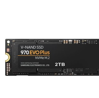 SAMSUNG 三星 970 EVO Plus系列 固态硬盘 2TB M.2接口 MZ-V7S2T0B