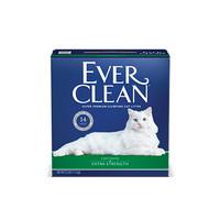 88VIP:Ever Clean 铂钻 膨润土猫砂 绿标 25磅  *2件