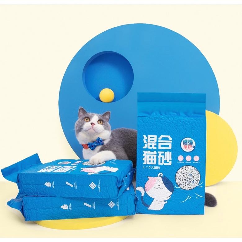 倔强的尾巴 混合豆腐猫砂 2.8kg *2件
