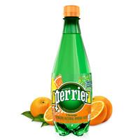 京东PLUS会员:Perrier 巴黎水橘子味气泡水 500ml*24瓶 *3件