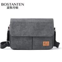 BOSTANTEN 波斯丹顿 BJ1202051 男士帆布单肩包