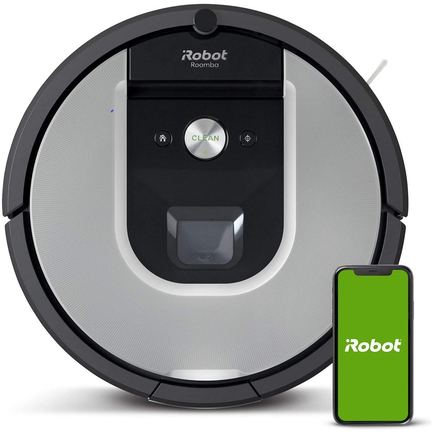 iRobot 艾罗伯特   Roomba 971 扫地机器人 银色