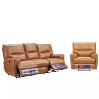 CHEERS 芝华仕 组合功能沙发 三人位 驼色