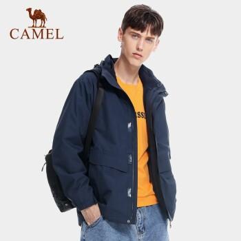 CAMEL 骆驼 A0W2TOR111 男女户外冲锋衣