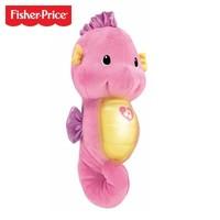 移动专享 : Fisher-Price 费雪 DGH83 声光安抚海马 粉色