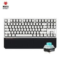 Hyeku 黑峡谷 X3 87键 2.4G无线双模 机械键盘 凯华BOX轴 天空蓝