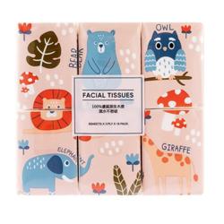 MINISO 名创优品 森林家族淡香手帕纸巾 18包装