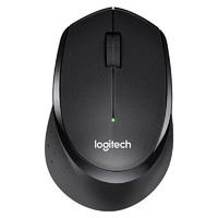 logitech 罗技 M330 2.4G无线鼠标 1000DPI 黑色