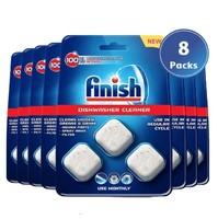Finish 洗碗碟机清洁剂,原装,多包,8 x 3,共24片