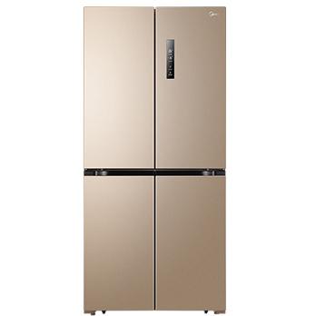 Midea 美的 BCD-468WTPM(E) 变频十字对开门冰箱 468L 芙蓉金