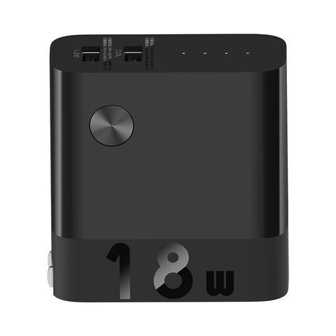 ZMI 紫米 APB05 移动电源充电宝二合一 黑色 5000mAh USB 18W快充