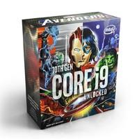 超值黑五、银联爆品日:intel 英特尔 酷睿 i9-10850K 盒装CPU处理器 漫威限定版