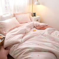 Dohia 多喜爱 纯棉磨毛床上三件套 1.2m