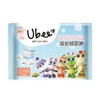 天猫U先:UBEE 幼蓓 芯呼吸成长纸尿裤 L码 1片装