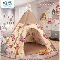 HearthSong 哈尚 儿童帐篷 森林小屋帐篷(不含地垫)
