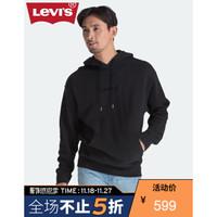 Levi's 李维斯 72632-0012 男士字母LOGO刺绣连帽卫衣