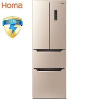 Homa 奥马 BCD-252WF/B 四门冰箱
