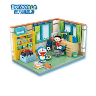 哆啦A夢大雄的房間2020玩具拼裝道具小房間還原情景模型節日生日禮物套裝 大雄房間 240*80*225