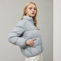 暖爱季:BOSIDENG 波司登 B90131060 女士立领短款羽绒服