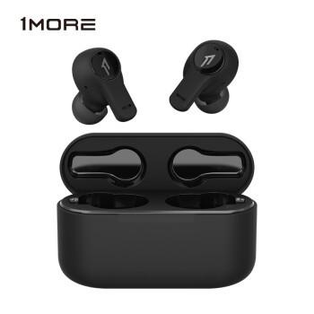 万魔(1MORE) PistonBuds 真无线蓝牙耳机 TWS 通话降噪 ESC3001T 黑色
