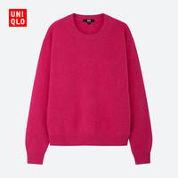 UNIQLO 优衣库 418679 女士圆领针织衫