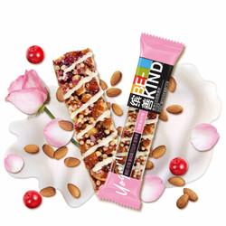 BE-KIND 缤善 酸奶玫瑰蔓越莓巴旦木坚果棒 35g*12条+海盐巴旦木可可坚果棒 40g*12条