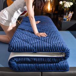 CHUYI 初意 加厚法兰绒乳胶复合床垫 90*200cm