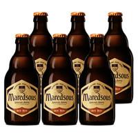 限地区:Maredsous 马里斯 马里斯8度 修道院啤酒 330ml*6瓶 *3件