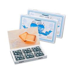 白色恋人  白巧克力夹心饼干  18枚*2盒