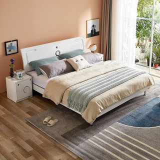 QuanU 全友家居 106905 双人床 1.5m单床